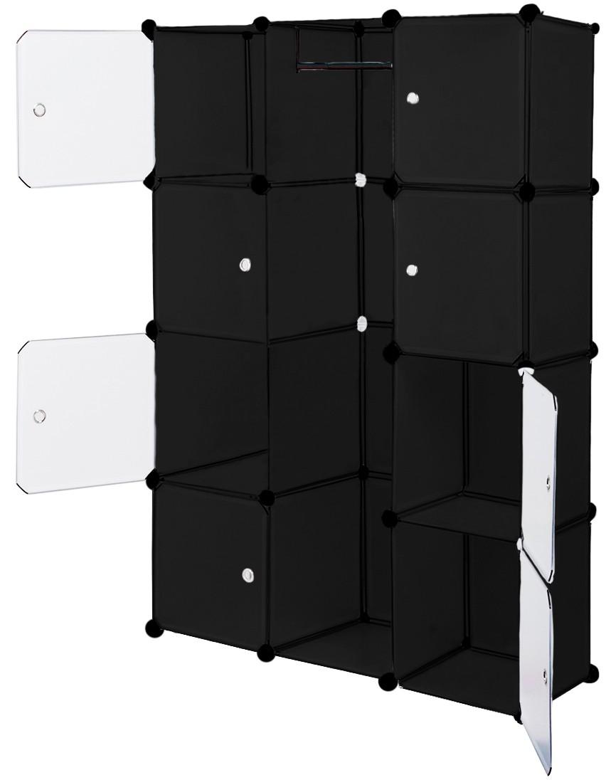 kleiderschrank regal schrank regalsystem steckregal. Black Bedroom Furniture Sets. Home Design Ideas