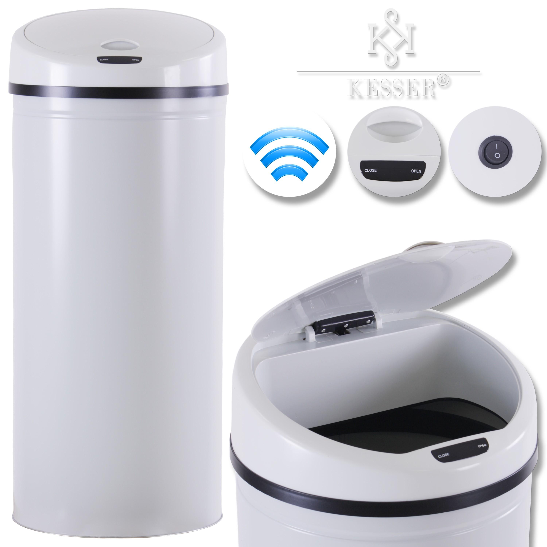 kesser automatik sensor m lleimer abfalleimer edelstahl papierkorb 30l 40l 50l ebay. Black Bedroom Furniture Sets. Home Design Ideas